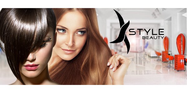Střih i barvení vlasů s péčí L'Oréal v centru Prahy