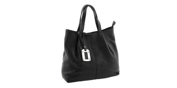 Dámská černá kabelka s visačkou Classe Regina