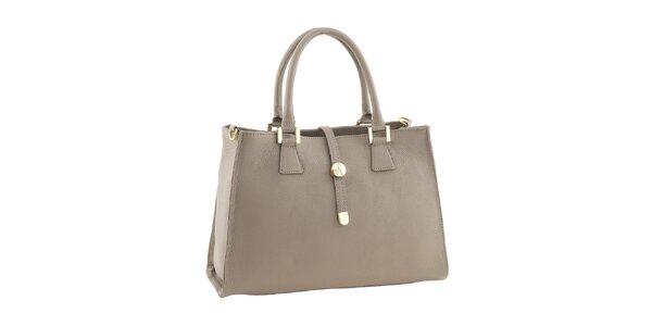 Dámská kožená kabelka ve světlém odstínu Classe Regina