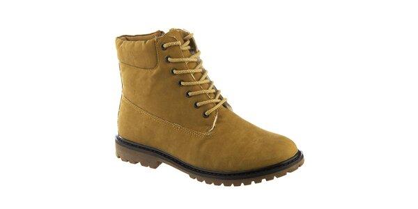 Dámské kotníkové šněrovací boty Keddo