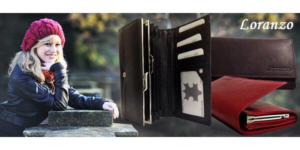 Kožená dámská peněženka Loranzo
