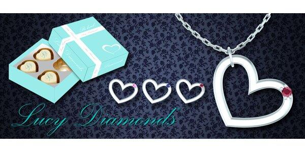 Šperky Lucy Diamonds® – ideální valentýnský dárek
