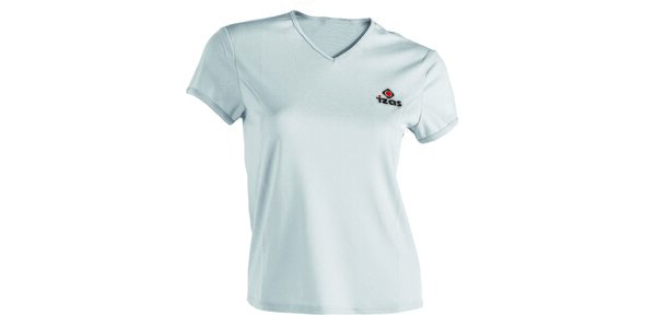 Dámské bílé technické tričko s krátkým rukávem Izas