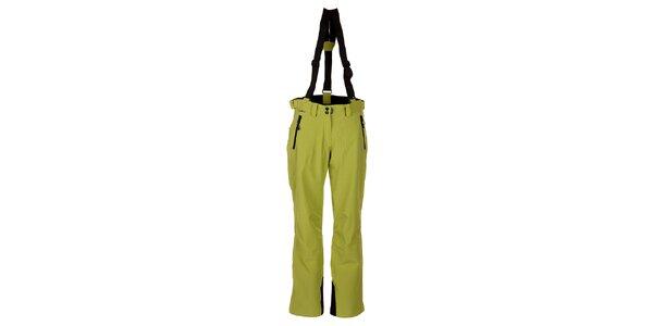 Dámské zelené lyžařské kalhoty Trimm Elli
