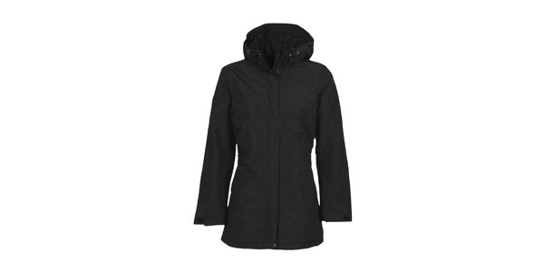 Dámský černý kabát s membránou Bergson