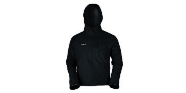 Pánská černá softshellová bunda Izas