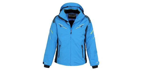 Pánská sytě modrá lyžařská bunda s membránou Bergson