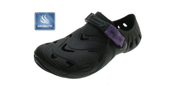 Dámské černé gumové boty Beppi s vůní