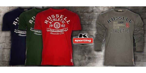 Pánská sportovní trička od značky Russell Athletic