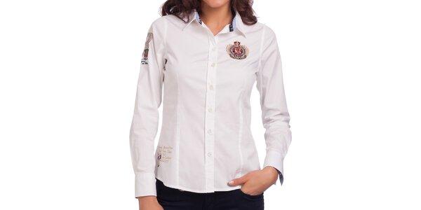 Dámská bílá košile Galvanni