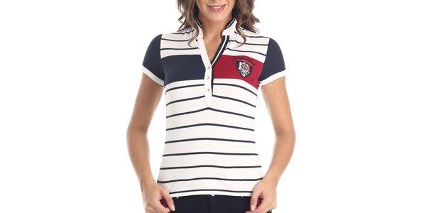 Dámské pruhované tričko Galvanni