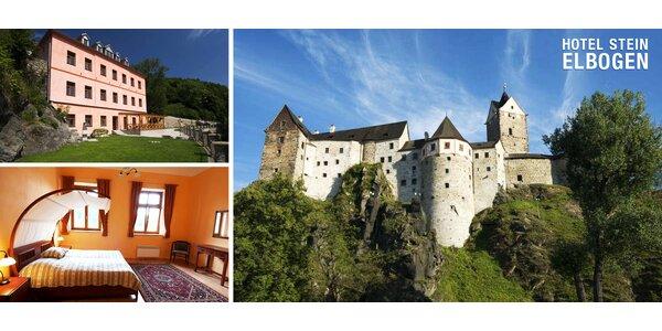 3-6denní relax kousek od hradu Loket