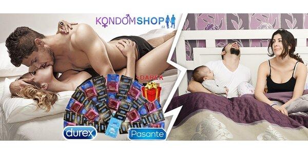 Valentýnské balíčky plné kvalitních kondomů