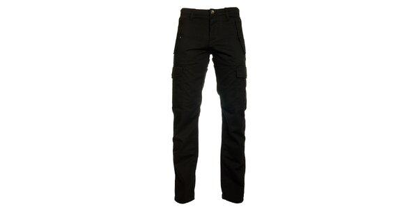 Pánské černé kalhoty Freesoul