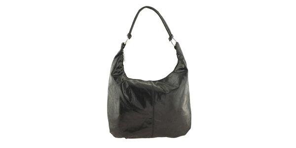 Dámská černá kabelka s mírným leskem Ore 10