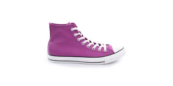 Fialové kotníčkové boty Converse