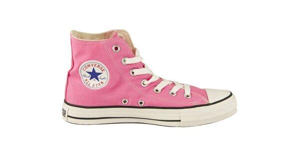 Růžové kotníkové tenisky Converse