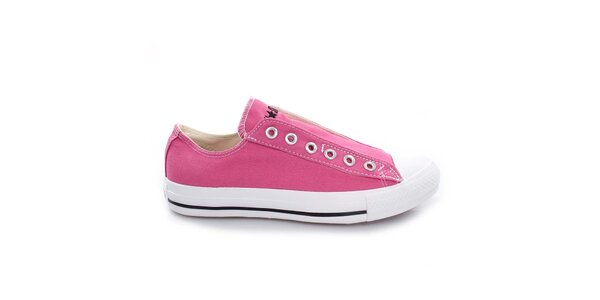 Růžové nízké tenisky Converse