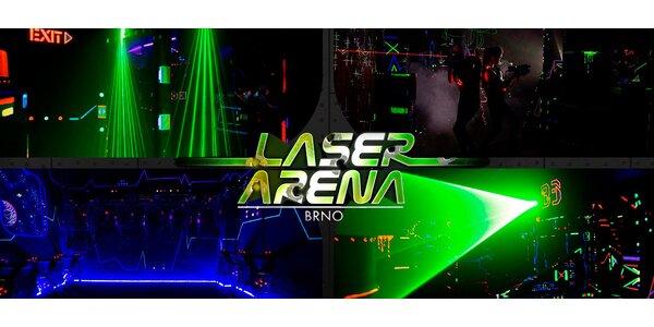 Laser Game zábava pro jednoho nebo dva hráče