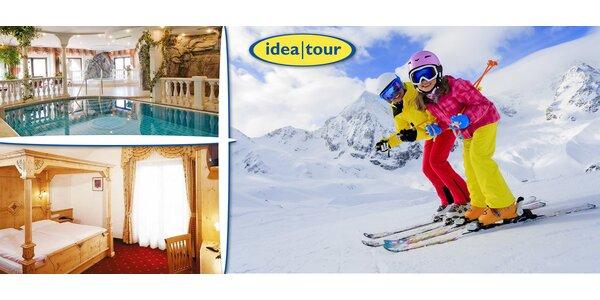 4 dny lyžování blízko Brixenu v Jižním Tyrolsku