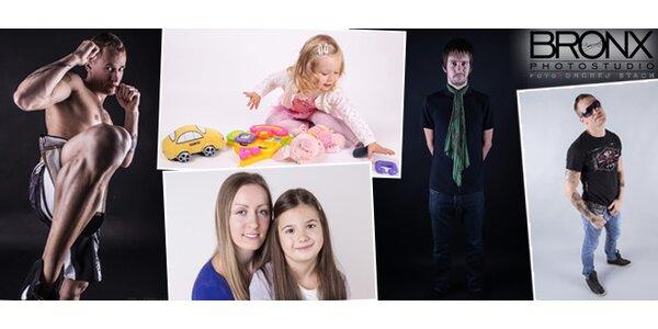 20 snímků s precizní retuší - portrét, focení dětí, sportovní, těhotenské nebo…