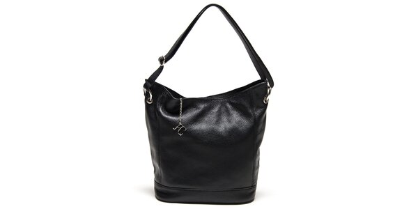 Dámská černá kabelka s pevným dnem Renata Corsi