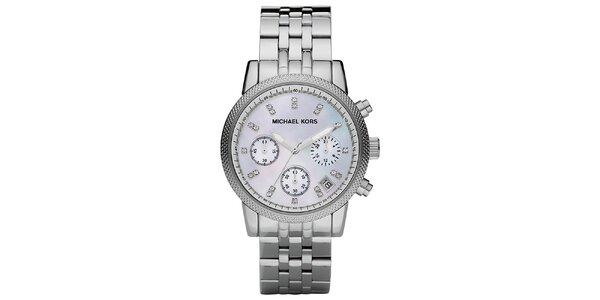 Dámské ocelové hodinky s kulatým ciferníkem Michael Kors