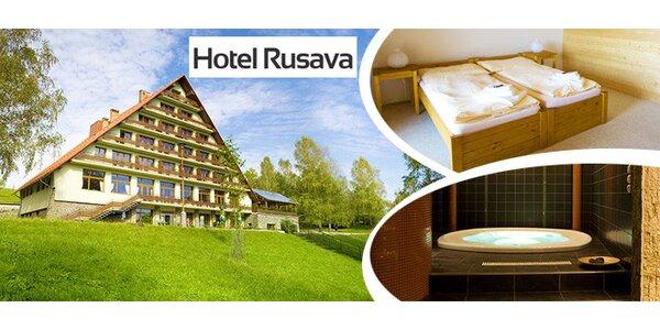 Valentýnská noc nebo víkend pro DVA v hotelu Rusava***