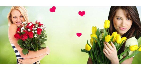 Krásné vázané kytice dle vlastního výběru