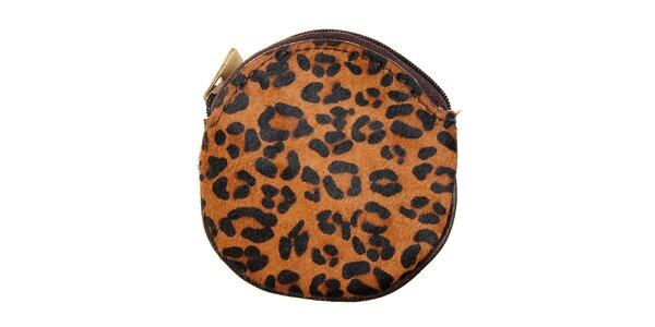Dámská leopardí peněženka na mince Hope