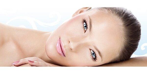 Kosmetické ošetření ultrazvukem zapracování kyseliny hyaluronové