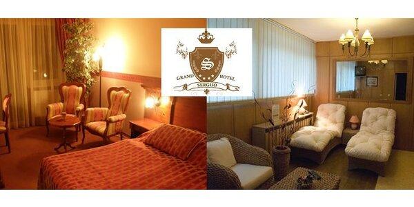 5900 Kč za wellness pobyt na 4 dny pro DVA v Grand Hotel Sergijo ****!