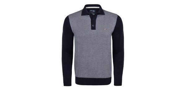 Pánský svetr s límečkem Giorgio Di Mare