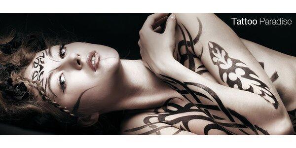 50% sleva na tetování dle vlastního výběru