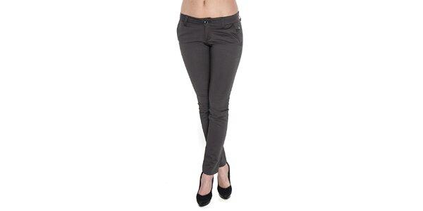 Dámské antracitové kalhoty Giorgio di Mare