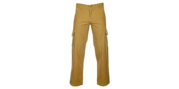 Pánské béžové kalhoty Bushman