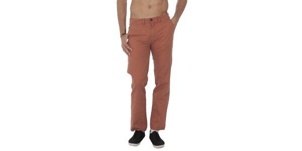 Pánské cihlové kalhoty Tommy Hilfiger