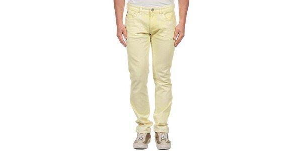 Pánské světle žluté džíny Calvin Klein