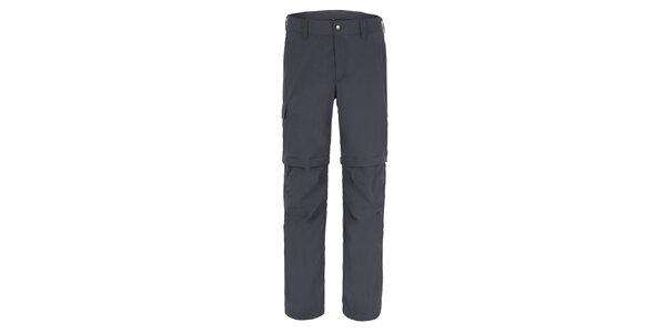 Pánské šedé kalhoty Meier s odepínatelnými nohavicemi