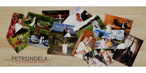 Vyvolání 4 fotek formátu A4 na kvalitní lesklý fotopapír Canon