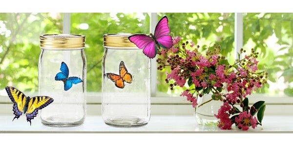 Věčný motýl ve sklenici – úplně jako živý