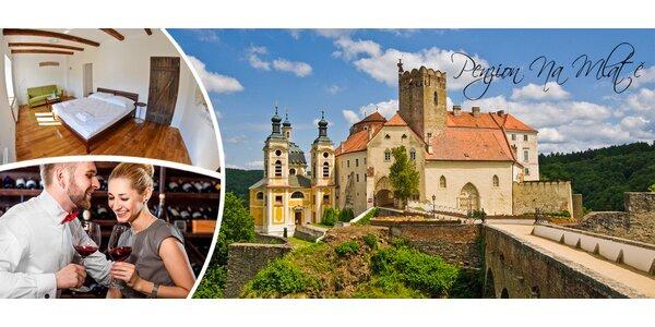 3-4denní odpočinek pro dva na jižní Moravě