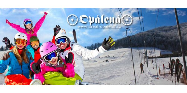 Celodenní skipass do ski areálu Opálená