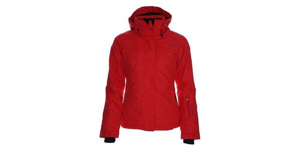 Dámská červená lyžařská bunda s kapucí Kilpi