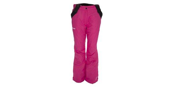 Dámské růžové lyžařské kalhoty Kilpi
