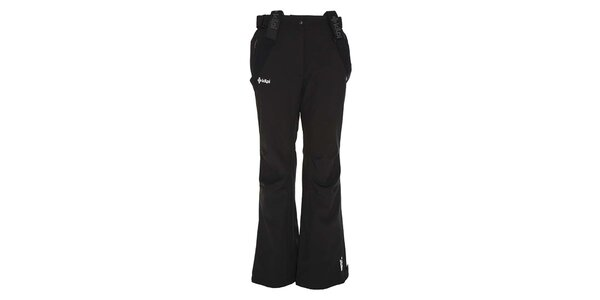 Dámské černé softshellové kalhoty se šlemi Kilpi