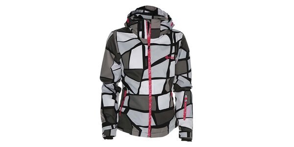 Dámská vzorovaná bunda na snowboard Kilpi
