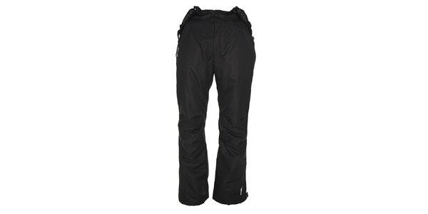 Pánské černé lyžařské kalhoty s odepínacími šlemi Kilpi