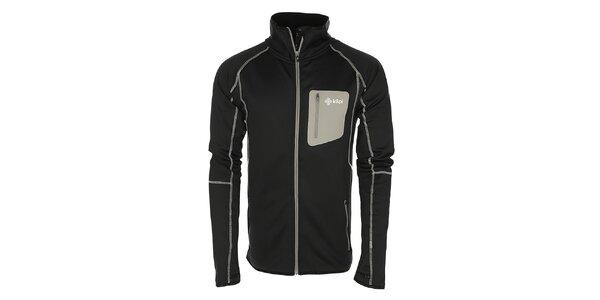 Pánská černá bunda z fleecu Kilpi