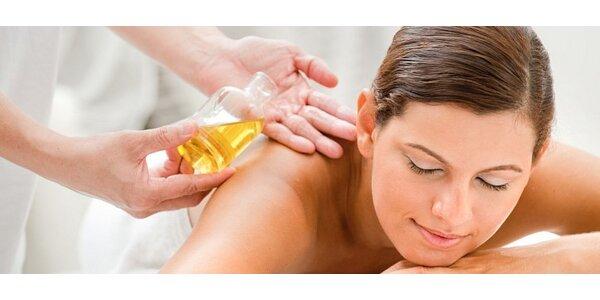 Aroma - olejová masáž zvolené části těla